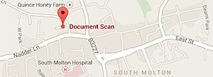 Document Scan - Google Map